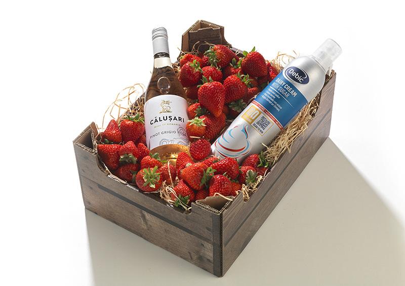 Aardbeienbox